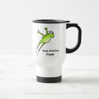 Toad Tossing Champ Travel Mug
