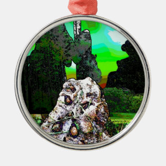 toad water color jpg christmas tree ornament