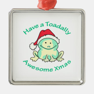 TOADALLY AWESOME CHRISTMAS TREE ORNAMENT