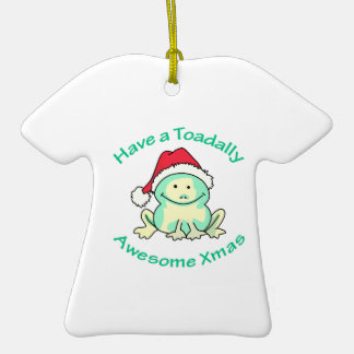 TOADALLY AWESOME CHRISTMAS ORNAMENT