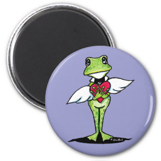 Toadally Awesome 6 Cm Round Magnet