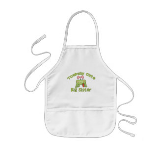 Toadally Cute Big Sister Apron