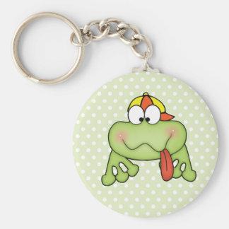Toadally Cute Boy Frog Key Chains