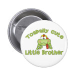 Toadally Cute Little Brother 6 Cm Round Badge