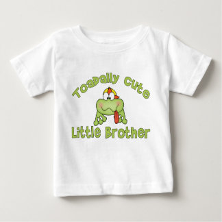 Toadally Cute Little Brother Baby T-Shirt