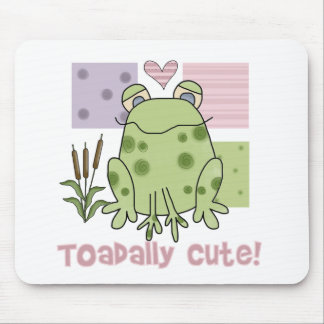 Toadally Cute  Mouse Pad