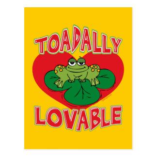 Toadally Lovable Postcard
