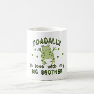Toadally Love Big Brother Basic White Mug