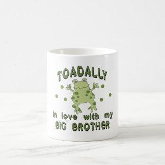 Toadally Love Big Brother Mug