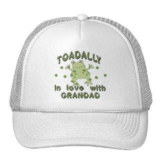 TOADALLY Love Grandad Frog Cap