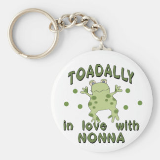 TOADALLY Love Nonna Frog Key Ring