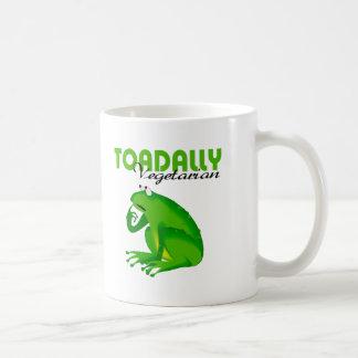Toadally Vegetarian Coffee Mugs