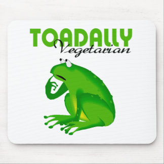 Toadally Vegetarian Mouse Pad