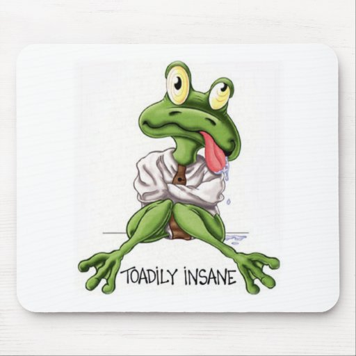 TOADILY INSANE MOUSE PAD