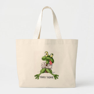 TOADILY INSANE TOTE BAGS