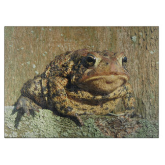 Toadly Awesome Toad Cutting Board