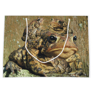 Toadly Awesome Toad Large Gift Bag