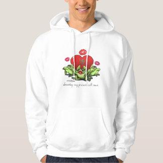 Toadly in Love Valentine Hoodie