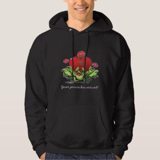 Toadly in Love Valentine Sweatshirt