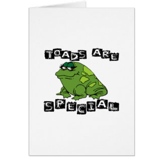 Toads Are Special Greeting Cards