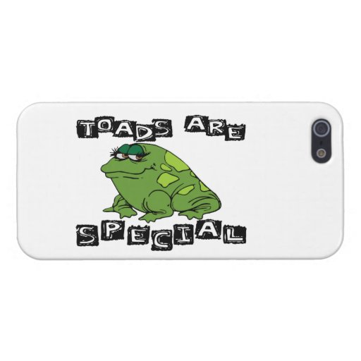 Toads Are Special iPhone 5 Case