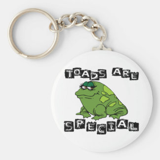Toads Are Special Key Ring
