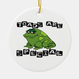 Toads Are Special Round Ceramic Decoration