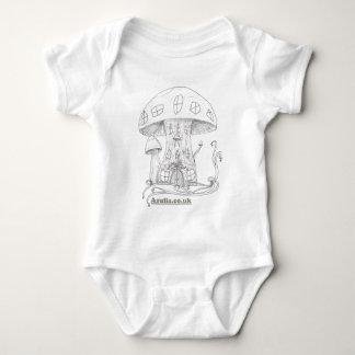 Toadstool Castle Baby Bodysuit