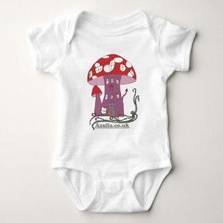 Toadstool Castle (colour) Baby Bodysuit