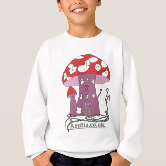 Toadstool Castle (colour) Sweatshirt