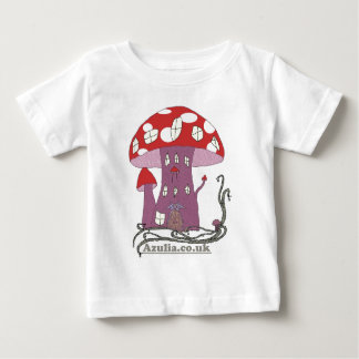 Toadstool Castle (in colour) Baby T-Shirt