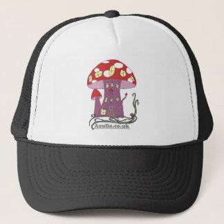 Toadstool Castle (in colour) Trucker Hat