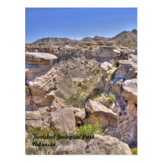 Toadstool Geological Park Nebraska Post Card