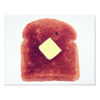 """Toast! 4.25"""" X 5.5"""" Invitation Card"""
