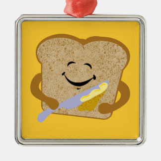 Toast And Butter Christmas Ornament
