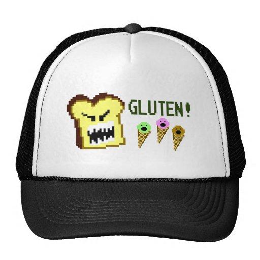 Toast, The Gluten Menace: 8-Bit Style Mesh Hats