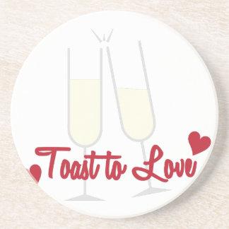 Toast To Love Coasters