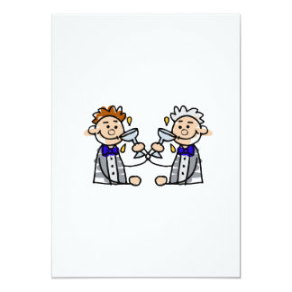 Toast to the Grooms Card