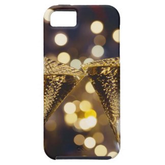 Toasted champagne flute, close-up iPhone 5 cover