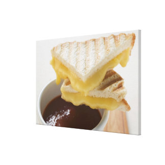 Toasted cheese sandwiches & a cup of tomato soup gallery wrap canvas