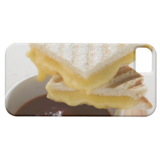Toasted cheese sandwiches & a cup of tomato soup iPhone 5 case