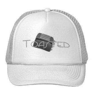 Toasted - Retro Toaster - B&W Negative Cap