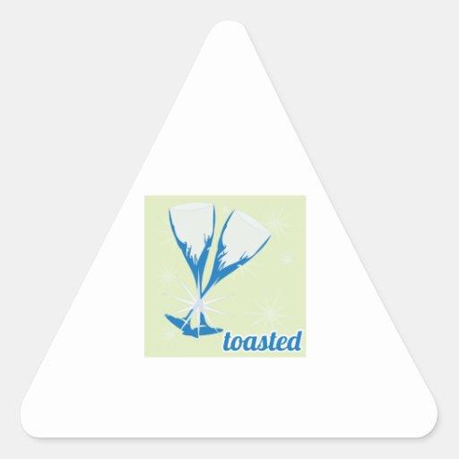 Toasted Triangle Sticker