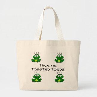 Toasted Toads Tote Jumbo Tote Bag