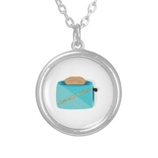 Toaster_Just Add Butter Custom Necklace