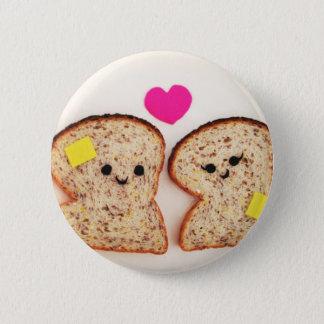 Toasty Love 6 Cm Round Badge