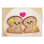 Toasty Love Greeting Card