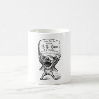 Tobacciana Victorian Cigar Advert Basic White Mug