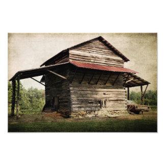 Tobacco Barn Photo Print