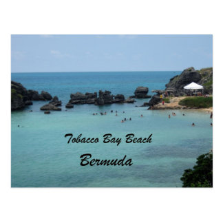 Tobacco Bay Beach, Bermuda Postcard